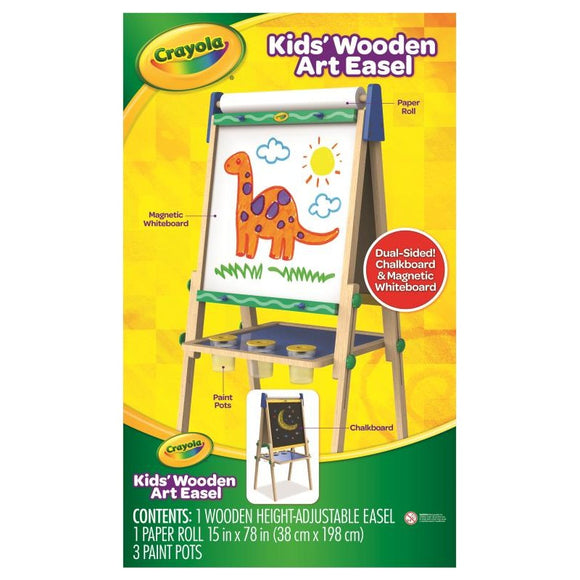 CRAYOLA 3 IN 1 WOODEN EASEL