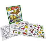 CRAYOLA COLOR & STICKER BOOK MY FIRST