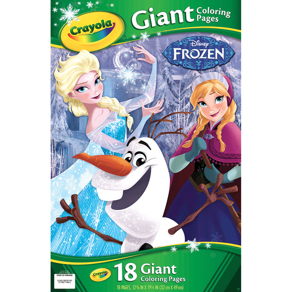 CRAYOLA GIANT COLOR PAGES FROZEN