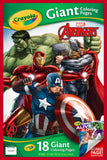 CRAYOLA GIANT COLOR PAGES MARVEL AVENGER