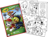 CRAYOLA GIANT COLOR PAGES PAW PATROL