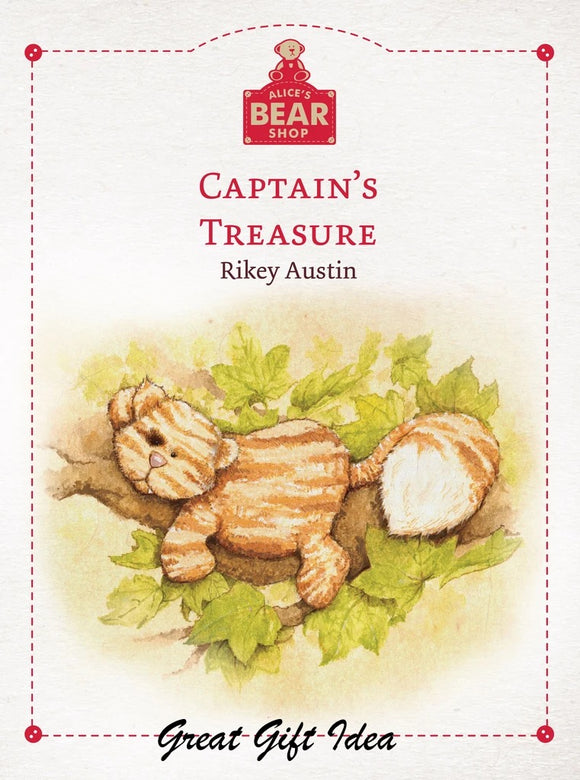 ALICE BEAR SHOP CAPTAIN'S TREASURE BOOK