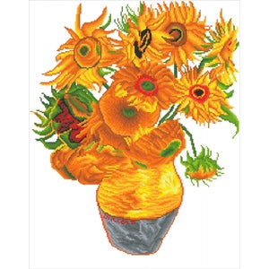 DIAMOND DOTZ HARD SUNFLOWERS