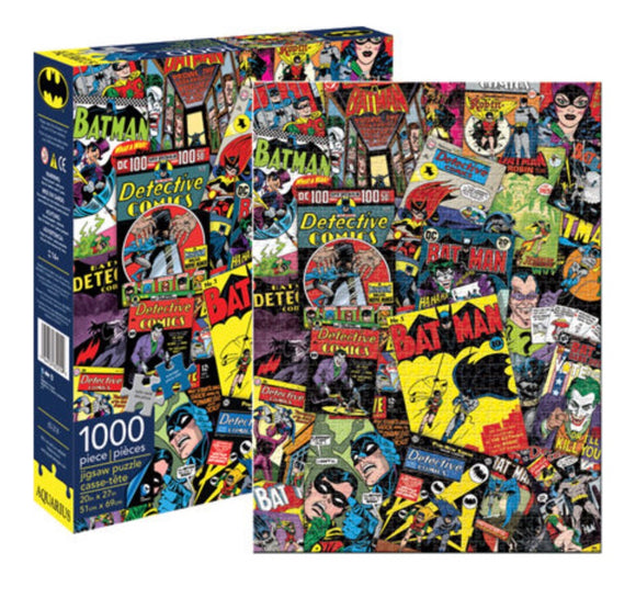 PUZZLE 1000PC DC COMICS BATMAN RETRO