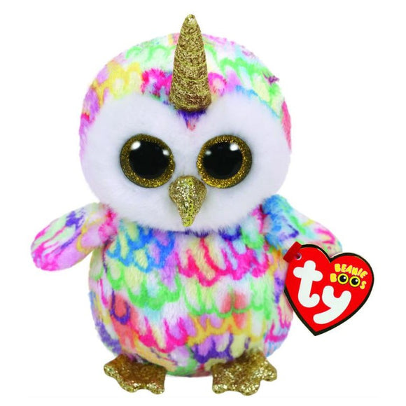 BEANIE BOOS REG ENCHANTED OWL WITH HORN