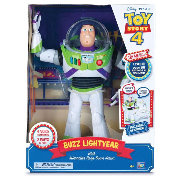 TOY STORY 4 INTERACTIVE TALKING BUZZ