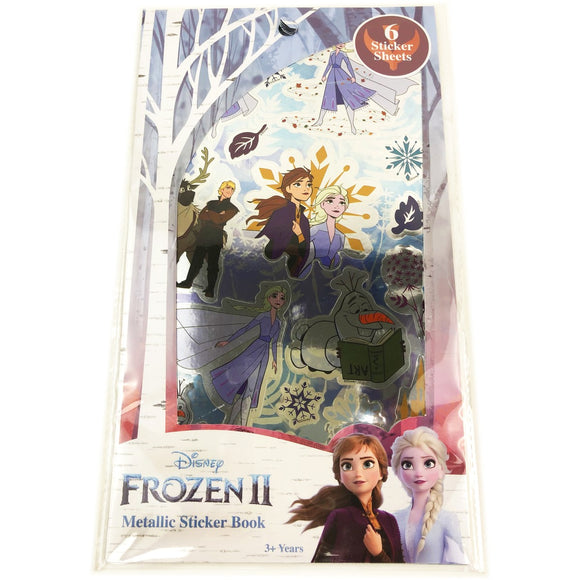 FROZEN 2 METALLIC STICKER BOOK