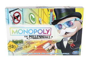 GAME MONOPOLY MILLENNIAL EDITION