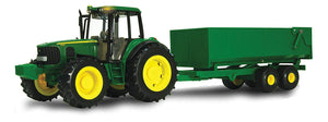 JD TRACTOR AND WAGON 7430