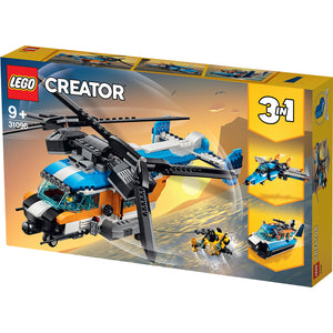 LEGO 31096 CREATOR TWIN ROTOR HELICOPTER
