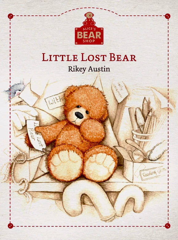 ALICE BEAR SHOP LITTLE LOST BEAR BOOK