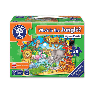 ORCHARD TOYS WHOS IN THE JUNGLE PUZZLE
