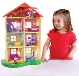 PEPPA PIG LIGHTS N SOUNDS FAMILY HOME