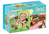 PLAYMOBIL SPIRIT HORSE STABLE & ABIGAIL