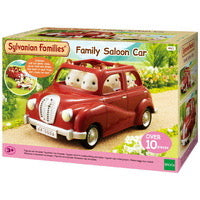 SYL/F FAMILY SALOON CAR RED