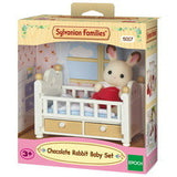 SYL/F CHOCOLATE RABBIT BABY SET