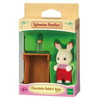 SYL/F CHOCOLATE RABBIT BABY