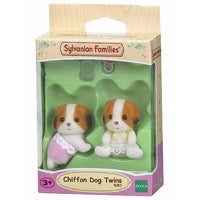 SYL/F CHIFFON DOG TWINS
