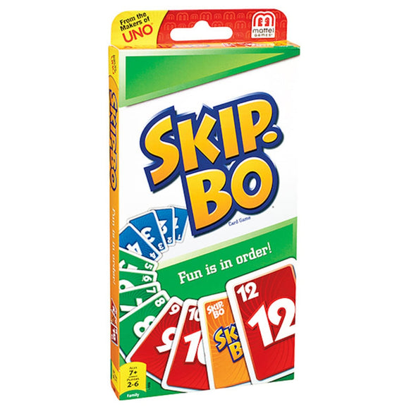 CARD GAME SKIP BO