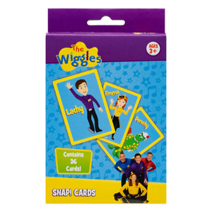 CARD GAME THE WIGGLES SNAP GAME