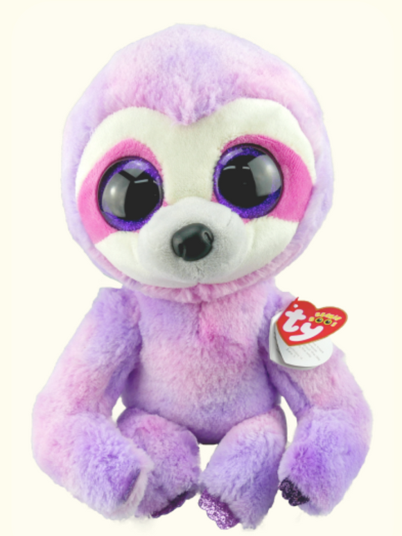 BEANIE BOO MED DREAMY PURPLE SLOTH