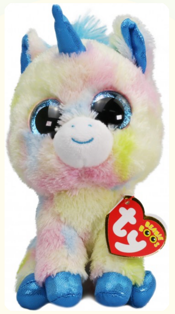BEANIE BOOS REG BLITZ THE UNICORN