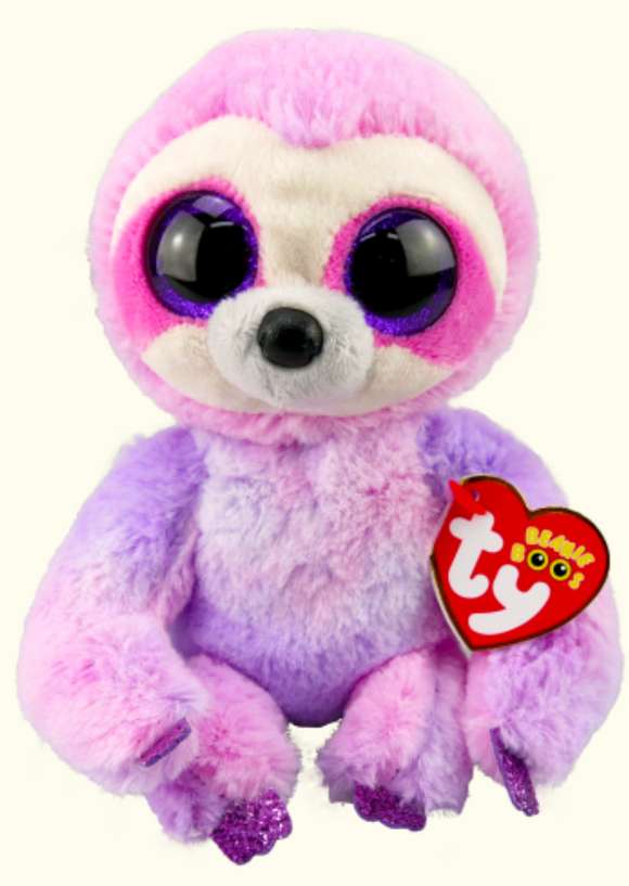 BEANIE BOOS REG DREAMY PURPLE SLOTH
