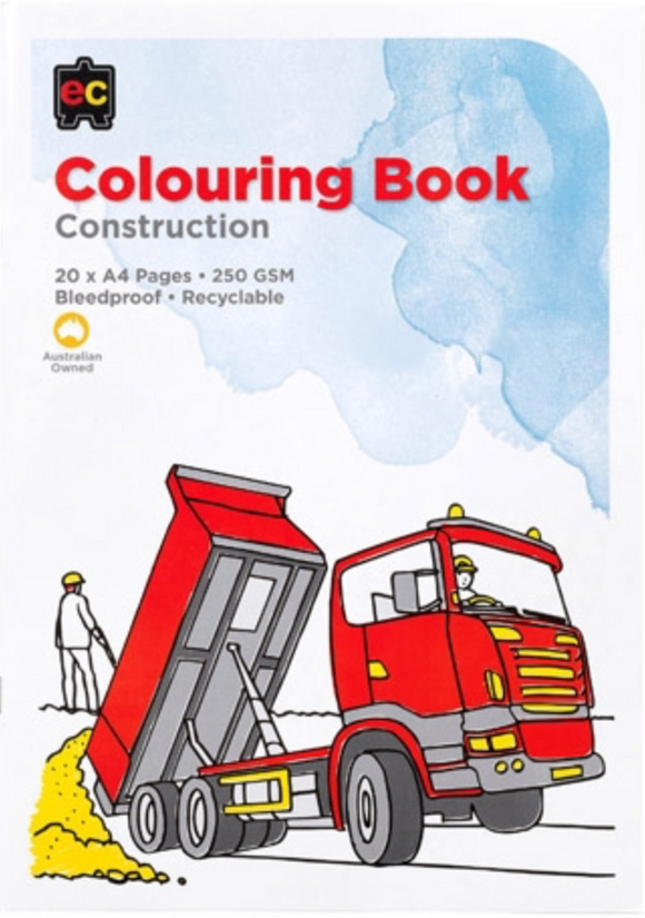 COLORING BOOK CONSTRUCTION