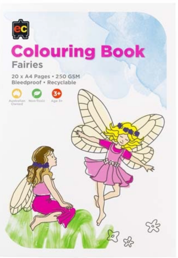 COLORING BOOK FAIRIES