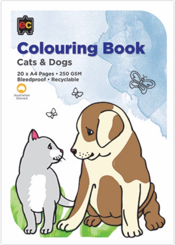 COLORING BOOK CATS & DOGS