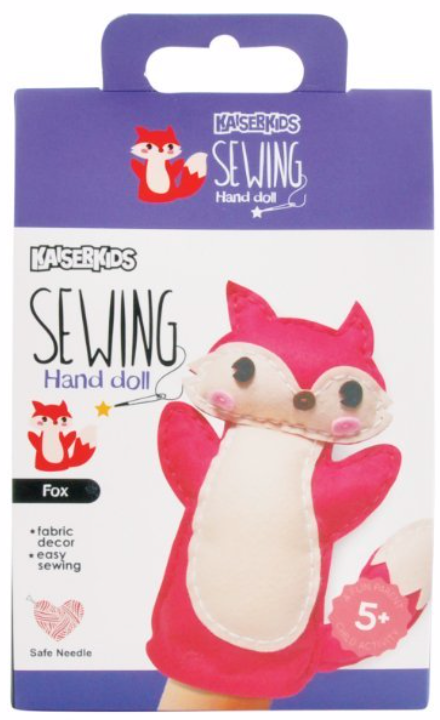 K KIDS SEW PUPPET FOX
