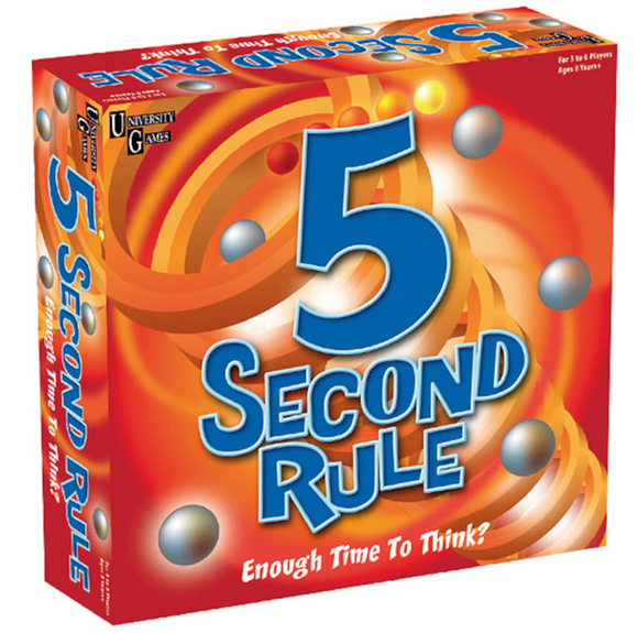 GAME 5 SECOND RULE