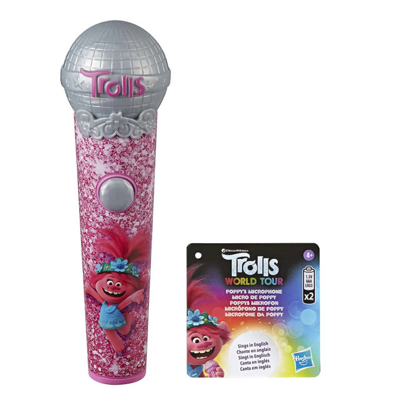 TROLLS WORLD TOUR POPPYS MICROPHONE