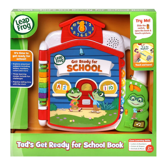 L/F TADS GET READY FOR PRESCHOOL BOOK