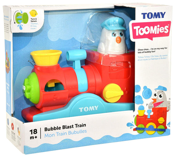 TOMY BUBBLE BLAST TRAIN