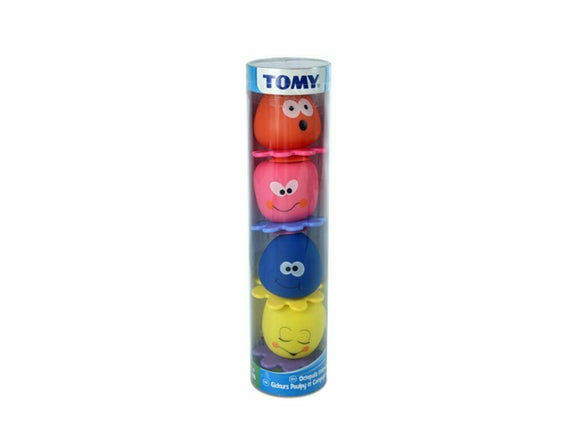 TOMY OCTOPALS SQUIRTERS GIFT TUBE