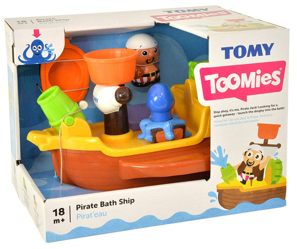 TOMY PIRATE BATH SHIP