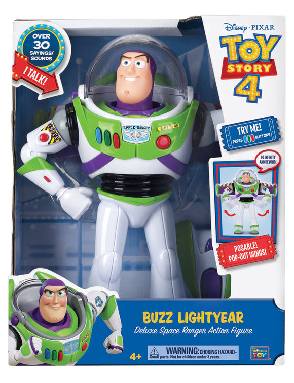 TOY STORY 4 DELUXE TALKING BUZZ