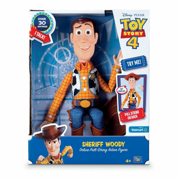 TOY STORY 4 DELUXE TALKING PLUSH WOODY
