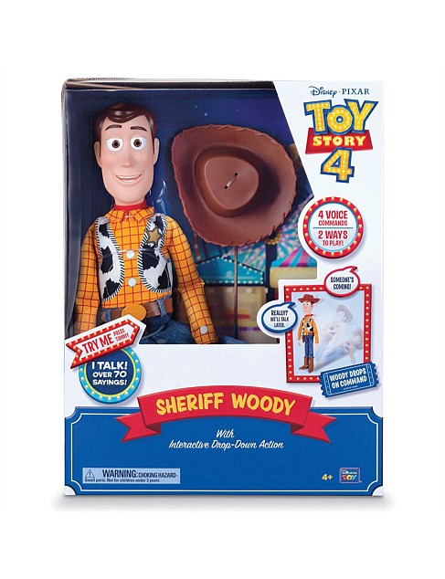 TOY STORY 4 INTERACTIVE TALKING WOODY