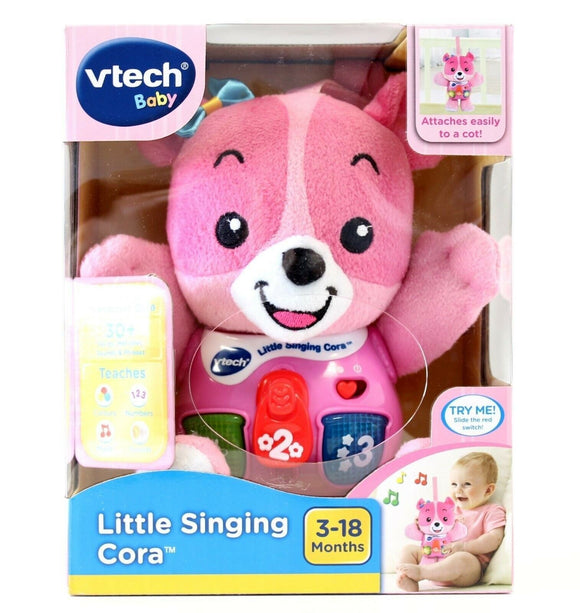 VTECH LITTLE SINGING CORA PINK