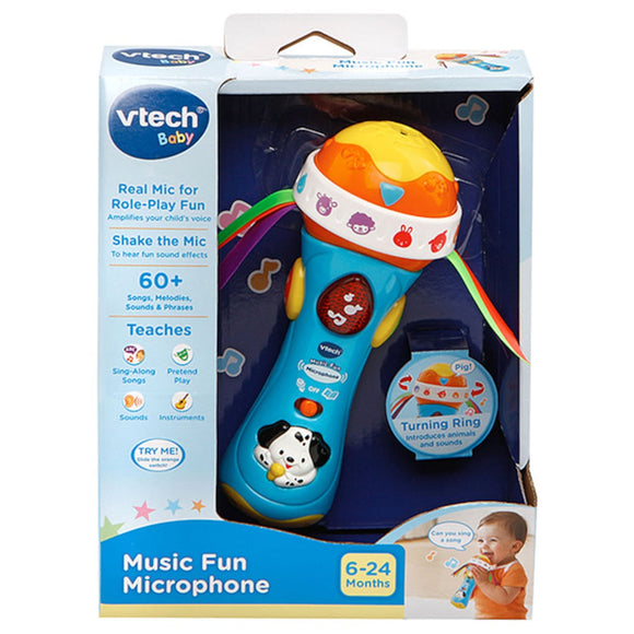 VTECH MUSIC FUN MICROPHONE