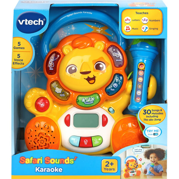 VTECH SAFARI SOUNDS KARAOKE