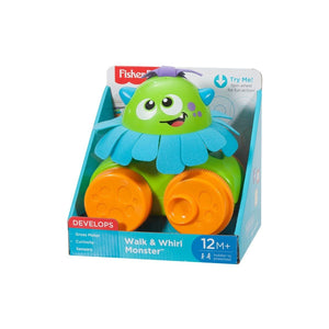 F/P WALK N WHIRL MONSTER PULL TOY