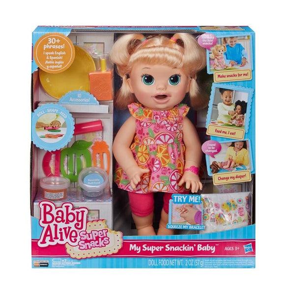 BA BABY ALIVE SUPER SNACKIN BABY BL