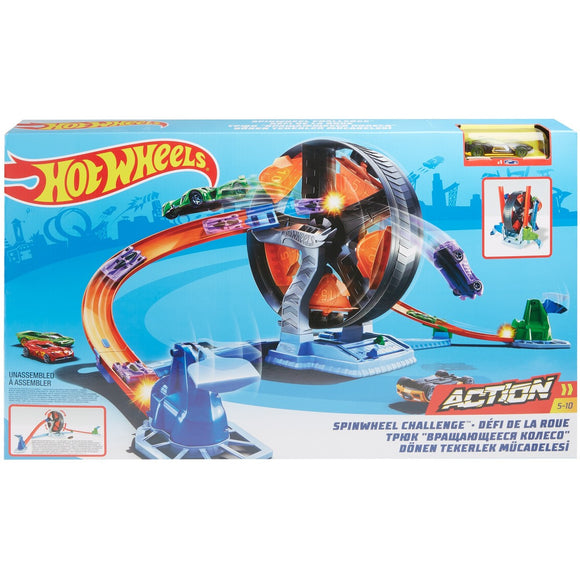 H/W ACTION SPINWHEEL CHALLENGE PLAYSET