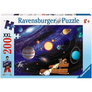 PUZZLE 200PC THE SOLAR SYSTEM