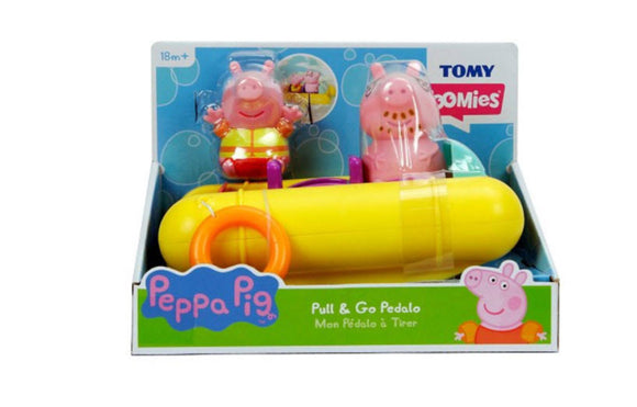 TOMY PEPPA PIG PULL & GO PEDALO
