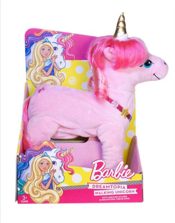 BARBIE DREAMTOPIA WALKING UNICORN