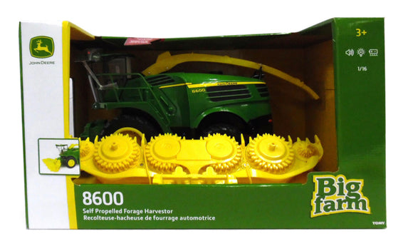 JD 1:16 B/F SELF PROPELLED FORAGE HARVES